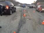 7 автомобилей столкнулись в Свердловской области