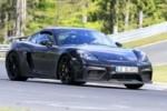 Porsche 718 Cayman GT4: вот он на Нюрбургринге