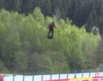 WEC 2019, Spa: пилот пролетает над стартовой решеткой с флайбордом