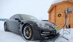 Электрический Porsche Taycan завершает пробег на выносливость перед запуском