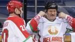 Путин и Лукашенко вместе сыграли в хоккей в Сочи