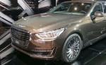 В Интернете появился снимок обновленного седана Genesis G90