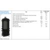 Аккумуляционная буферная  емкость drazice nado 1000/160v1
