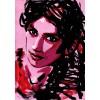 Картина-портрет на заказ в стиле pop art