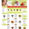 Шаблон ShopCms для цветочного магазина