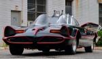 Новая Поездка Бэтмена Похожа на Ретро Американский Автомобиль Мускула