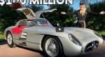 Редкий Mercedes 300 SLR демонстрирует закрытое руководство и превосходный дизайн на видео