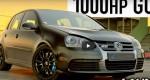 Тюнингованный VW Golf R32 мощностью 1000 л. С. - лучший хэтчбек для сна