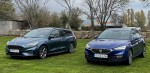 Видео сравнения семейных автомобилей: Ford Focus Sportbreak 1.0 EcoBoost MHEV 155 CV и SEAT León Sportstourer 1.5 TSI 150 CV