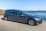 Высококачественный, быстрый, с нулевым выбросом катафалк: это Tesla Model Hearse (S)