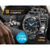 Часы-мультитул Leatherman Tread Tempo и фонарь в подарок.