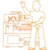 Демонтаж монтаж технологического оборудования