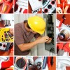 Высотные работы,  электрмонтажные работы