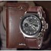 Комплект часы Amst и клатч Baellerry Italia.