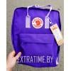 Молодежный рюкзак kanken fjallraven фиолетовый высокое кач