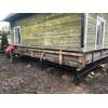 Замена фундамента под деревянные и каркасные дома,  ремонт