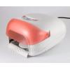 Уф лампа с таймером 0-360 и вентелятором розовая 36w